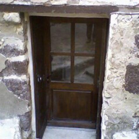 porte d entrée en frêne dv