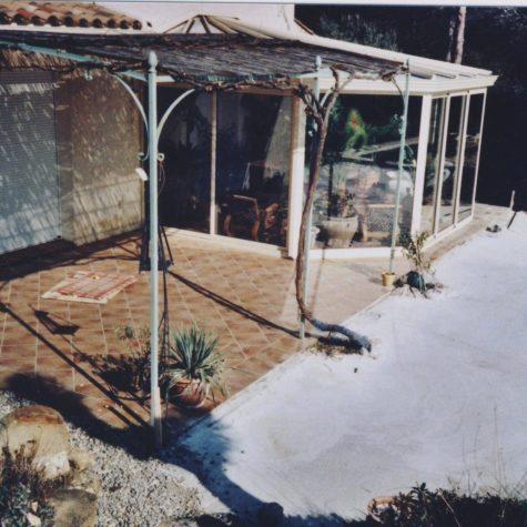 terrasse en ipe sur lambourde